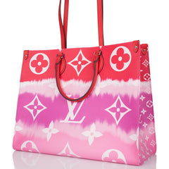 Louis Vuitton Rouge Escale Monogram OnTheGo GM Tote