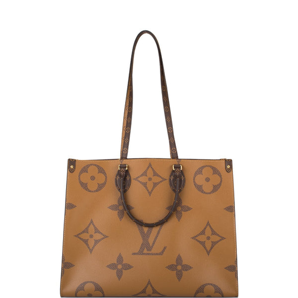Louis Vuitton Giant Reverse Monogram On The Go Tote