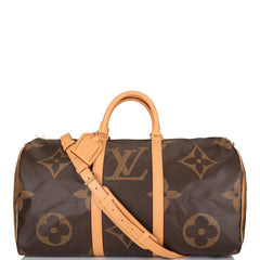 Louis Vuitton Giant Reverse Monogram Keepall Bandoulière 50