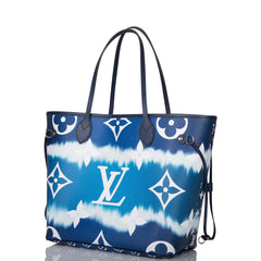 Louis Vuitton Blue Escale Monogram Neverfull MM