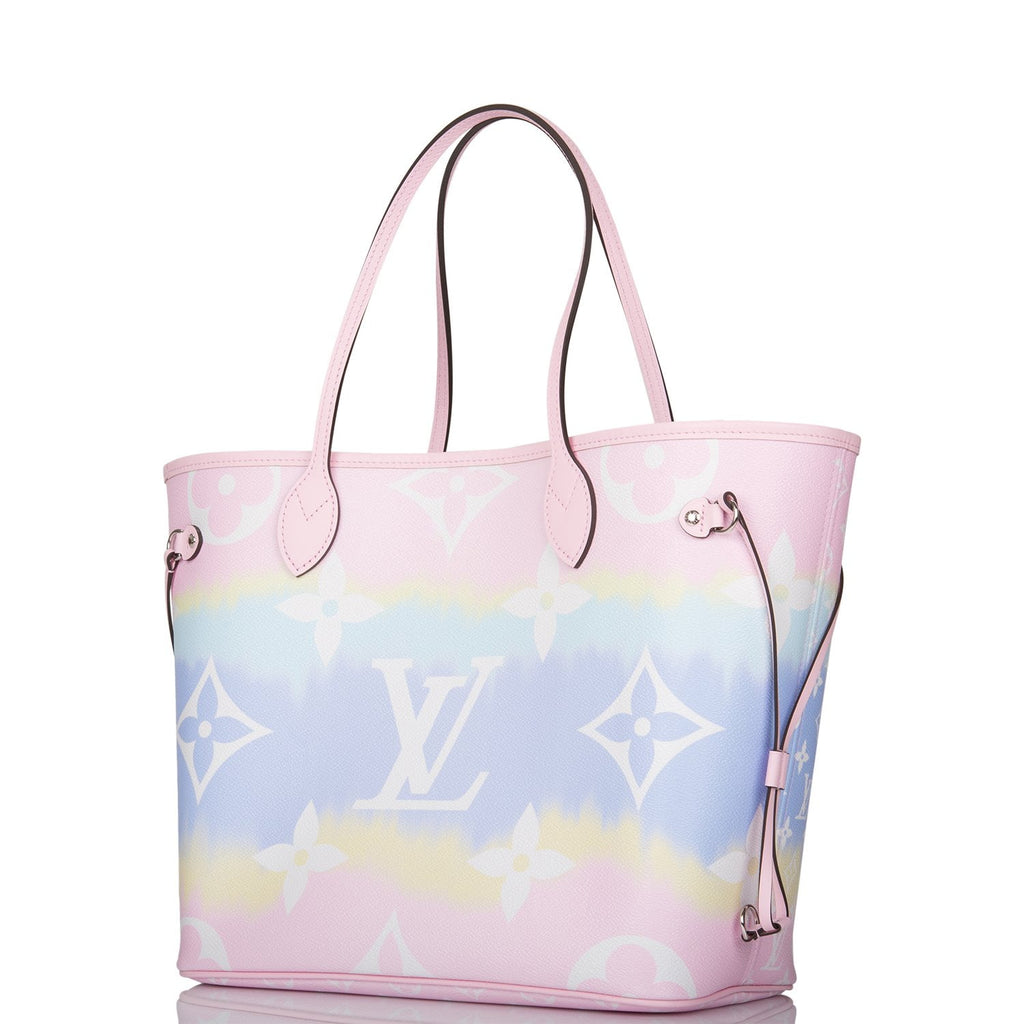 Louis Vuitton Pastel Escale Monogram Neverfull MM