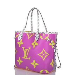Louis Vuitton Lilac Giant Monogram Neverfull MM