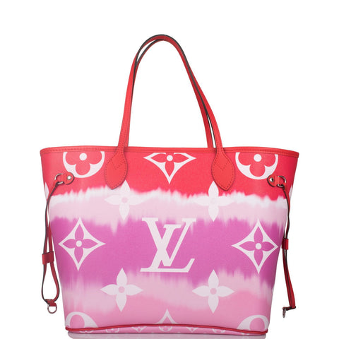 Louis Vuitton Rouge Escale Monogram Neverfull MM