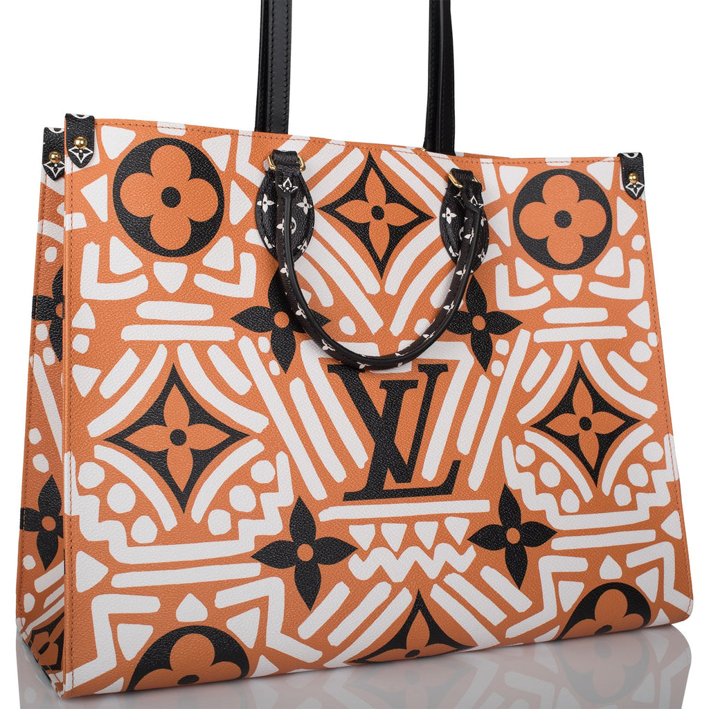 Louis Vuitton Caramel Giant Monogram Crafty OnTheGo Tote GM