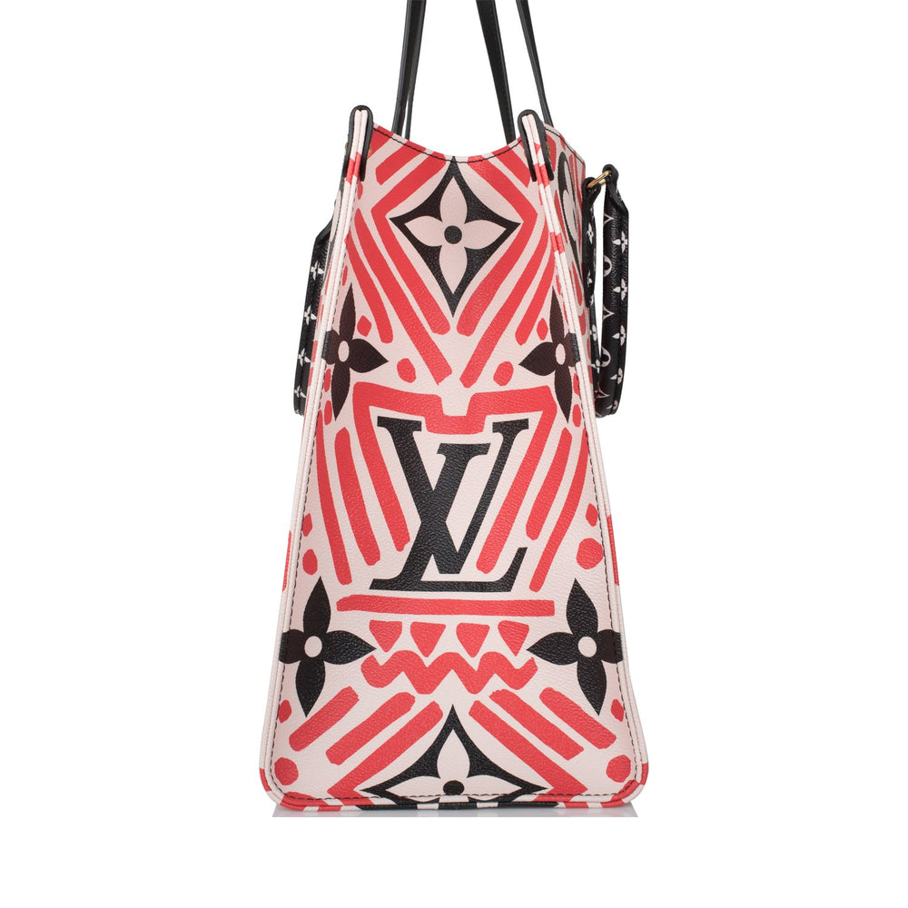 Louis Vuitton Red Giant Monogram Crafty OnTheGo Tote GM