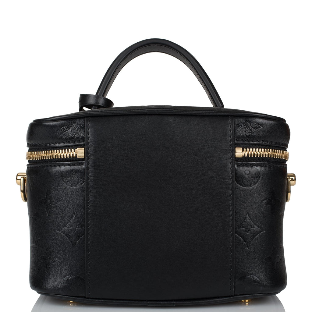 Louis Vuitton Black Monogram Ink Vanity PM Bag