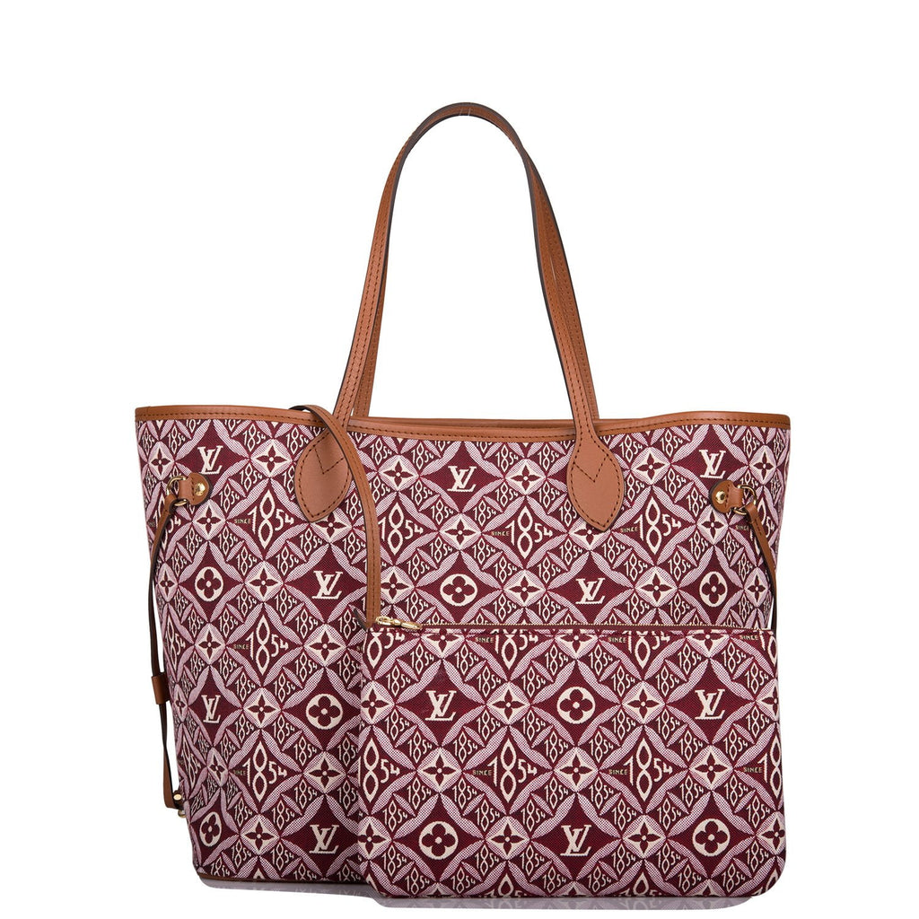 Louis Vuitton Burgundy Since 1854 Neverfull MM