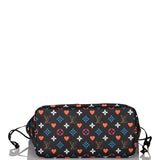 Louis Vuitton Black Game On Neverfull MM