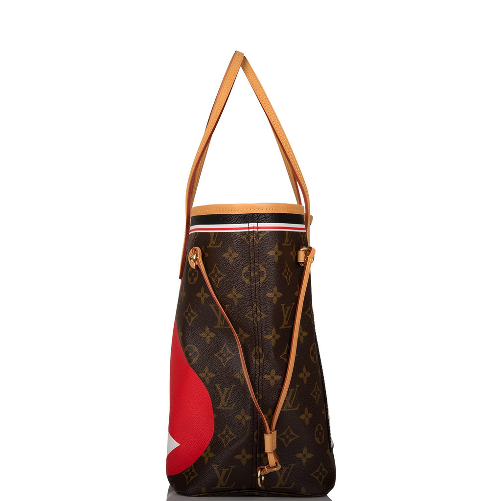 Louis Vuitton Monogram Game On Neverfull MM