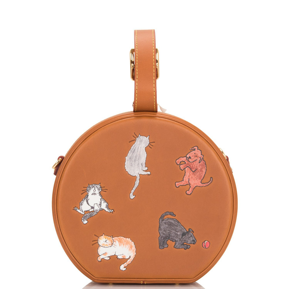 Louis Vuitton x Grace Coddington Catogram Petite Boite Chapeau