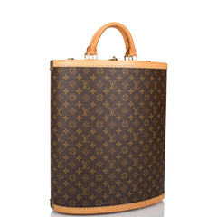 Louis Vuitton x Manolo Blahnik Centenaire Monogram Shoe Trunk (Preloved - Excellent)