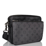 Louis Vuitton Monogram Eclipse Trio Messenger
