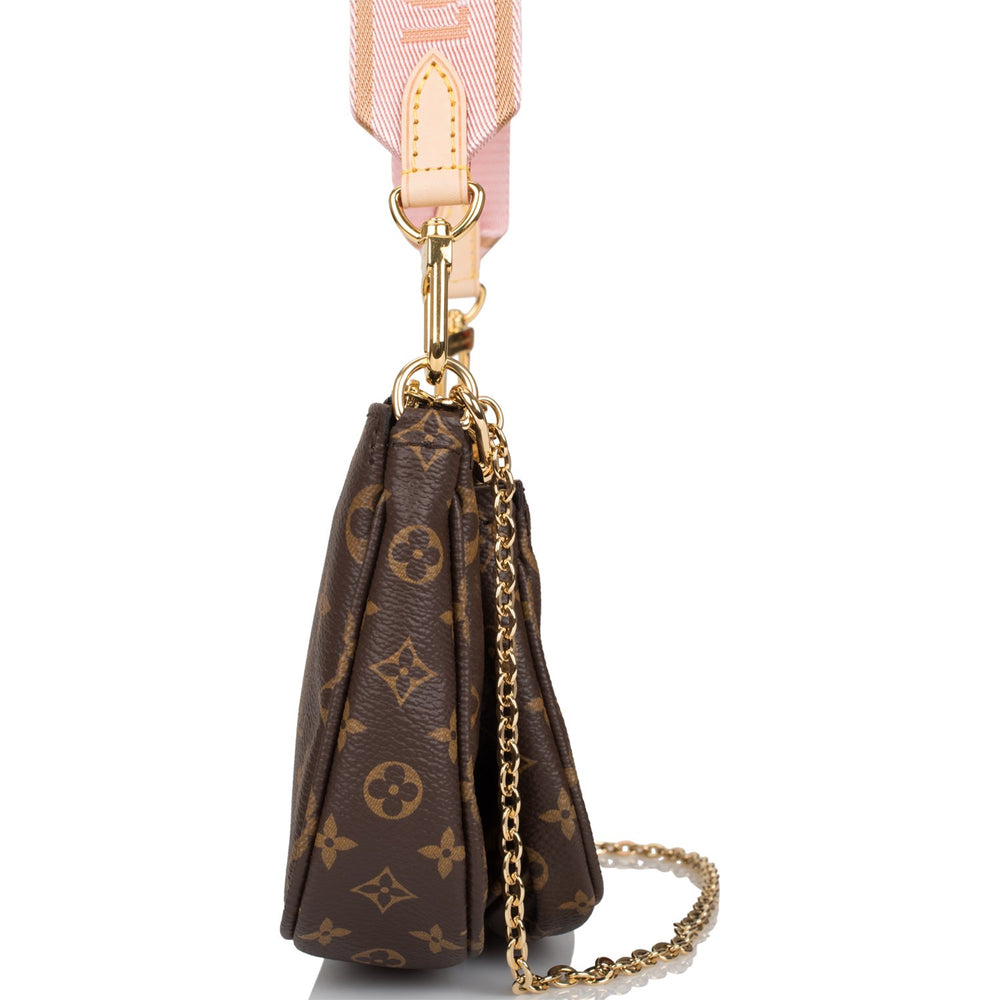 Louis Vuitton Monogram Multi Pochette Accessories Rose Clair