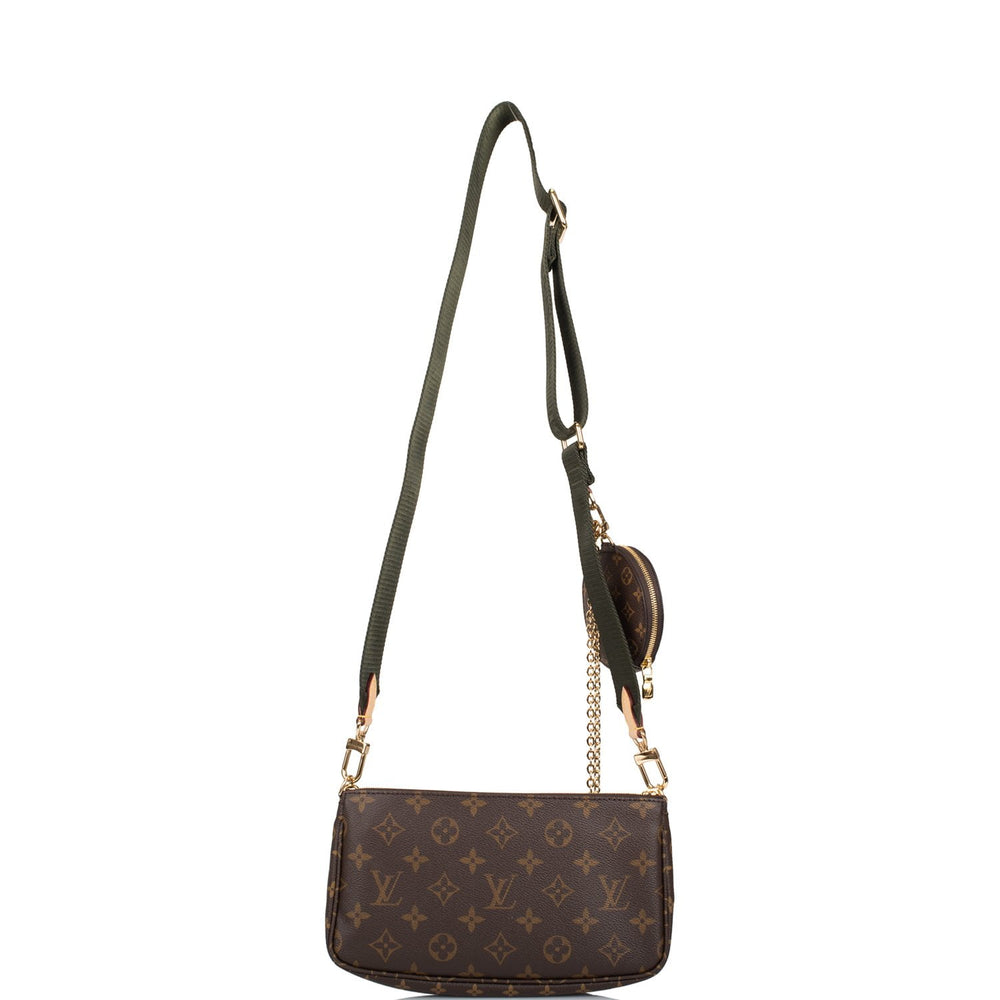 Louis Vuitton Monogram Multi Pochette Accessories Kaki