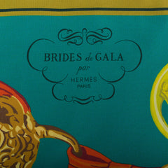 "Hermes ""Brides de Gala"" Silk Maxi Twilly"