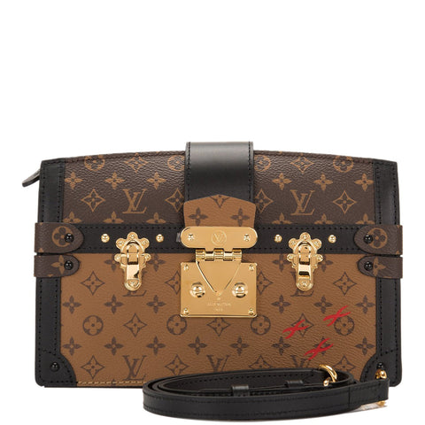 Louis Vuitton Reverse Monogram Trunk Clutch
