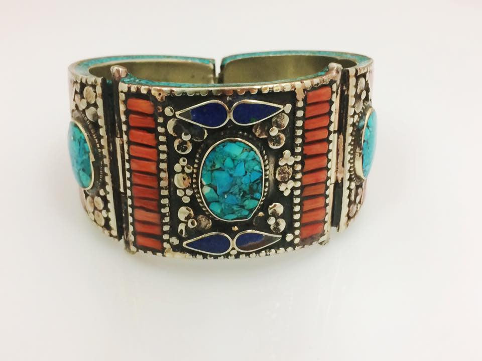 Multi Inlay Cuff SKU 587