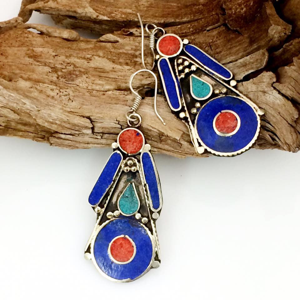 Inlay Earrings SKU 582