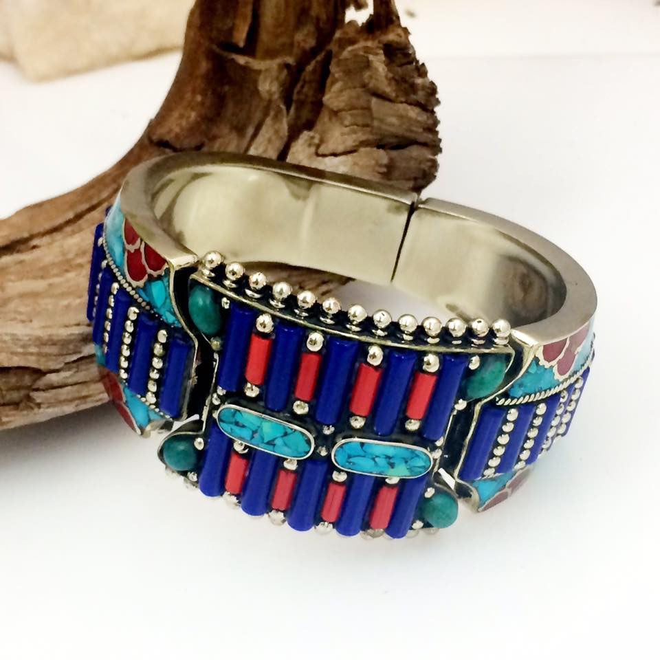 Inlay Lapis Cuff SKU 581
