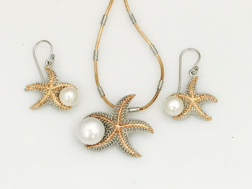 Starfish Pearl Set SKU 602