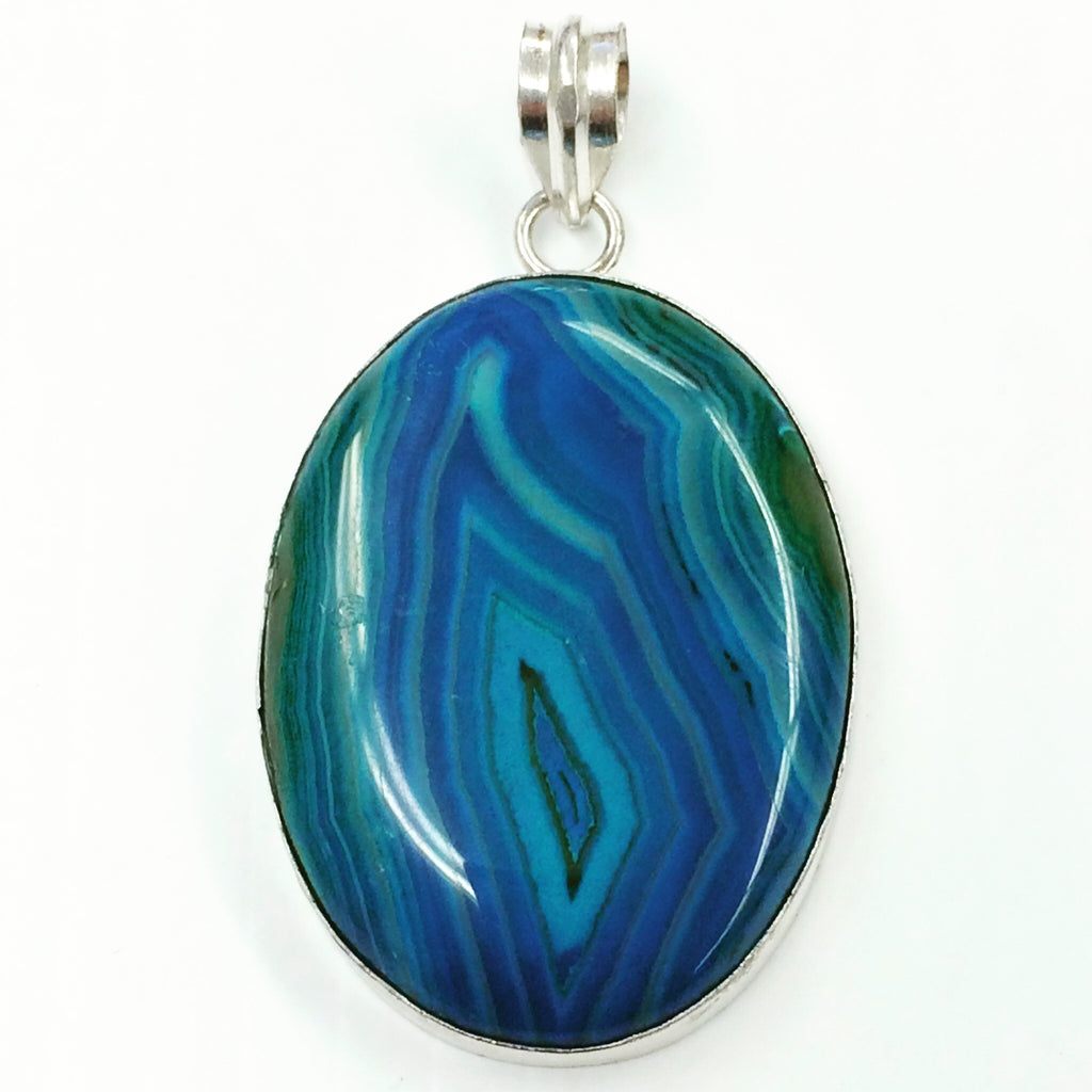 """Blue Hole"" pendant    SKU 001"