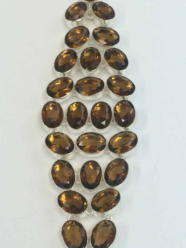 Smoky Quartz Bracelet                     SKU 255