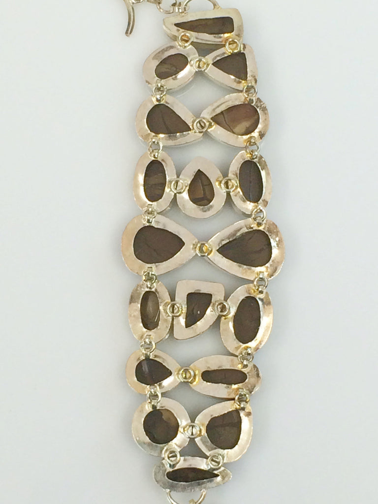 Fossilized Mud Crack Bracelet SKU 346