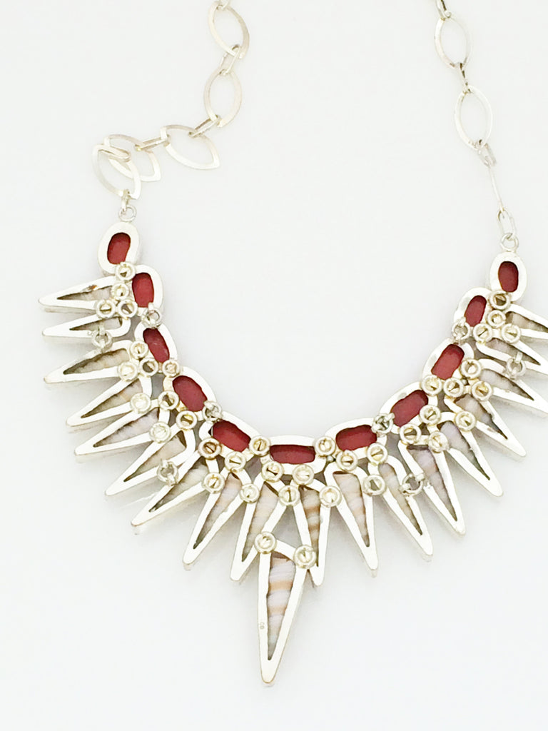 Shell and Coral Collar SKU 389