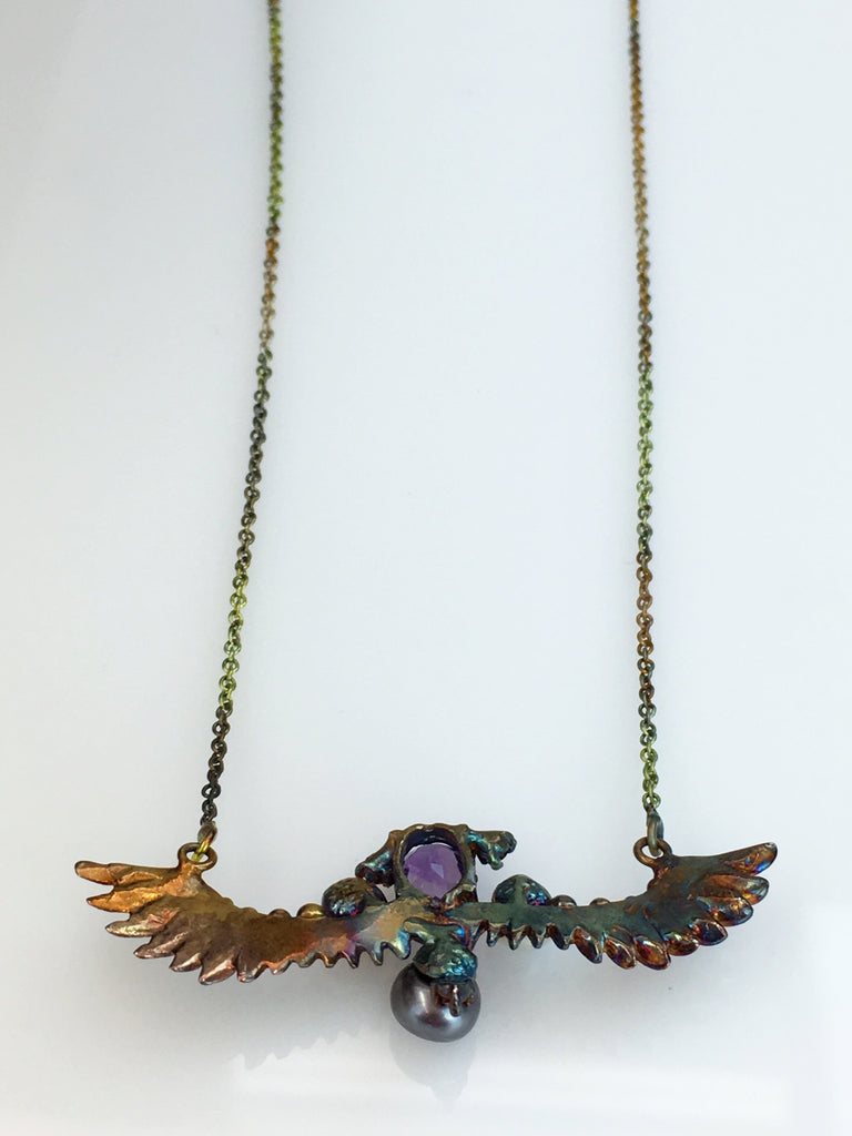 Wing Necklace                  SKU 278