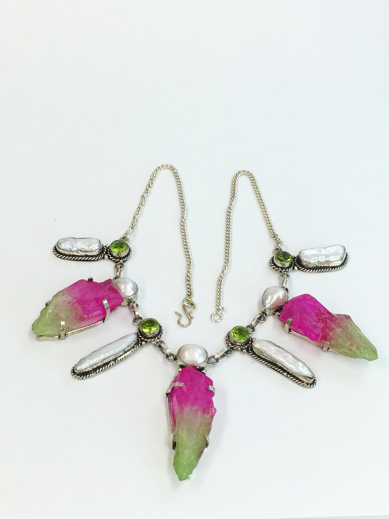 """Watermelon"" necklace   SKU 294"
