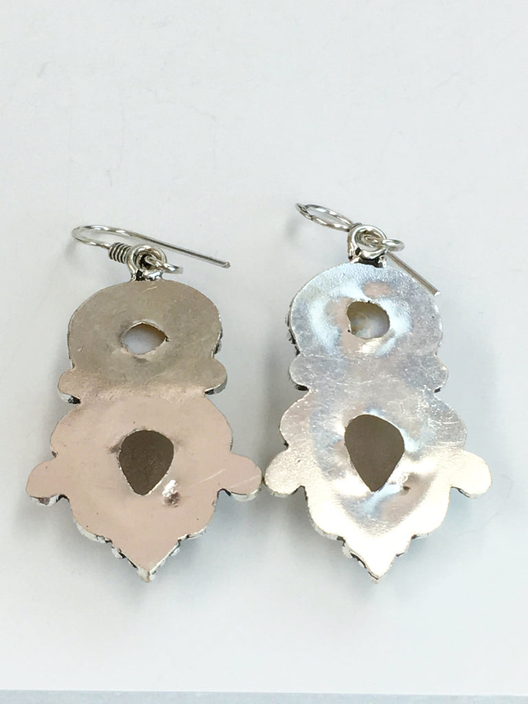 Agate & Pearl Earrings SKU 305