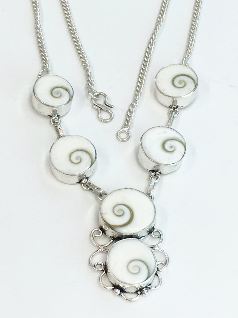Shiva Shell Necklace      SKU 306