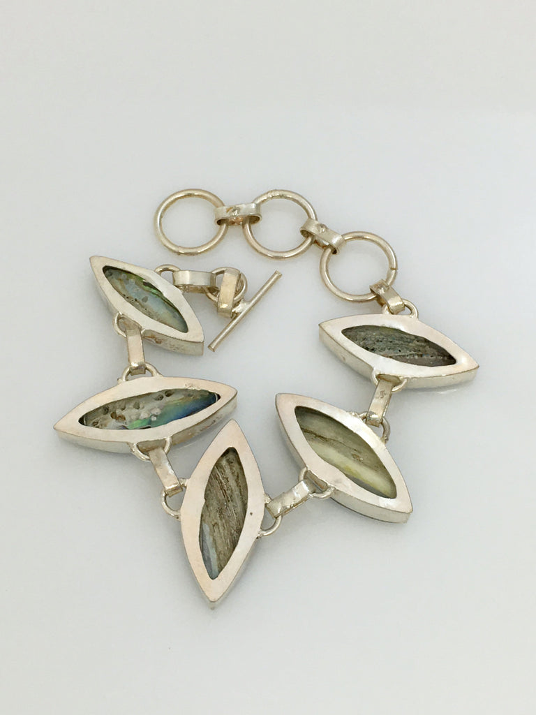 Marquis Shaped Abalone Bracelet SKU 440