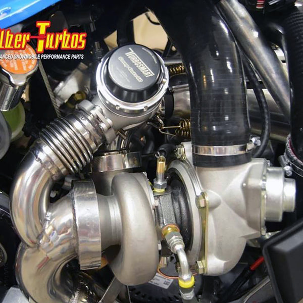 Polaris Rmk Axys Turbo Kits Silber Turbo