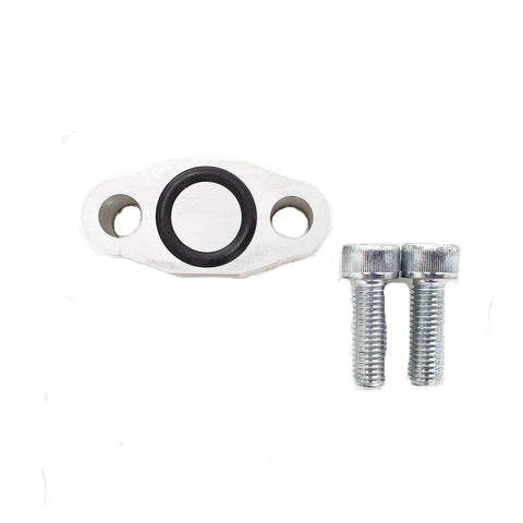 Turbo Oil Drain Block Off Kit