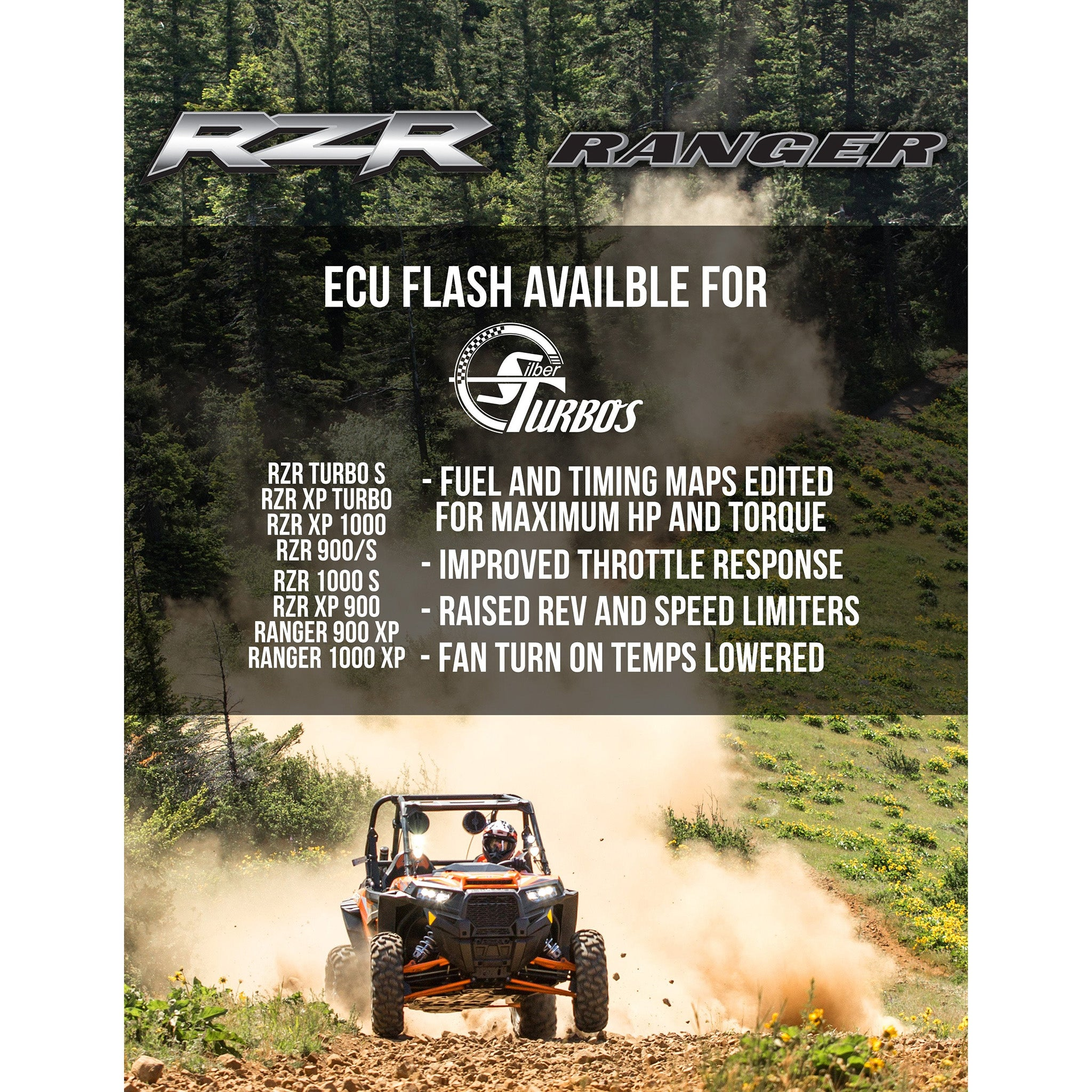 Polaris RZR ECU Reflash for Turbo & Naturally aspirated RZR