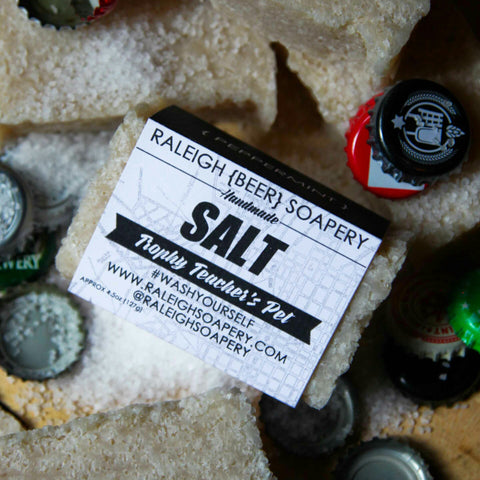 BEER SOAP SALT SOAP