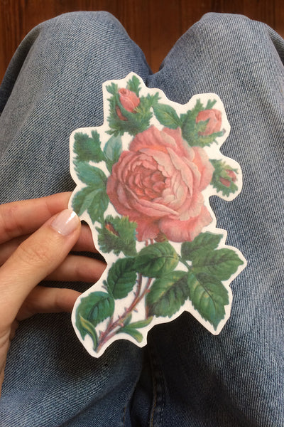 Floral Temporary Tattoo. Big Rose Tattoo