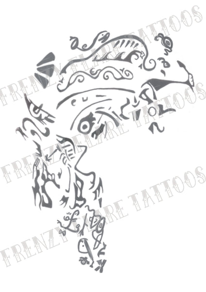 Ragnar Vikings Temporary Tattoos