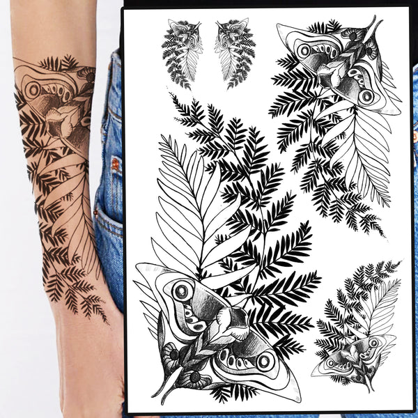 The Last Of Us 2 Ellie Temporary Tattoo for Cosplayers, 4 Different Sizes