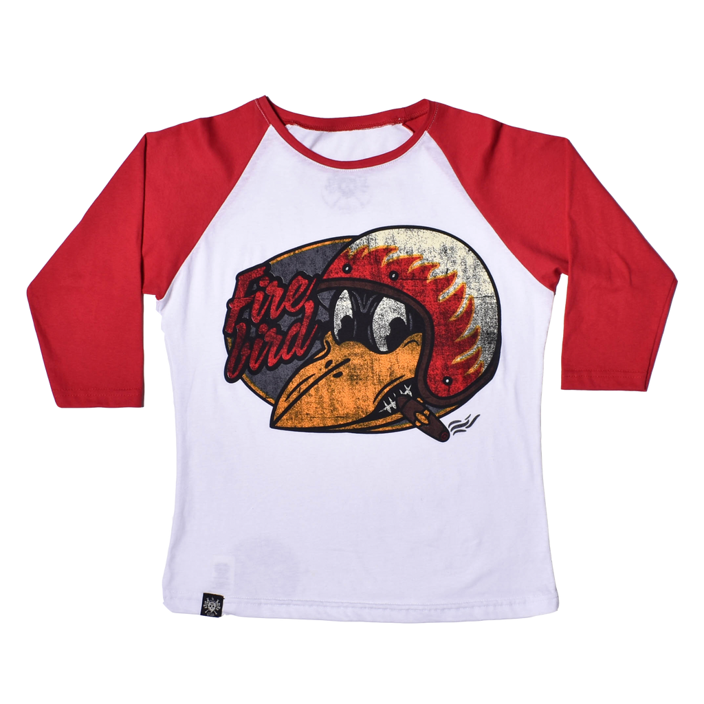 RANGLAR T SHIRT WOMEN Fire Bird - 3/4 Sleeve