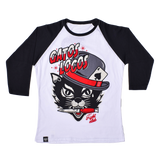 RANGLAR T SHIRT WOMEN Gatos Locos - 3/4 Sleeve