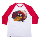 T SHIRT MEN LMDD Fire Bird - 3/4 Sleeve