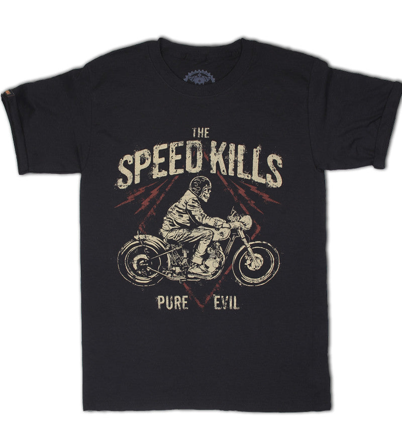 T SHIRT MEN LMDD Speed Kills