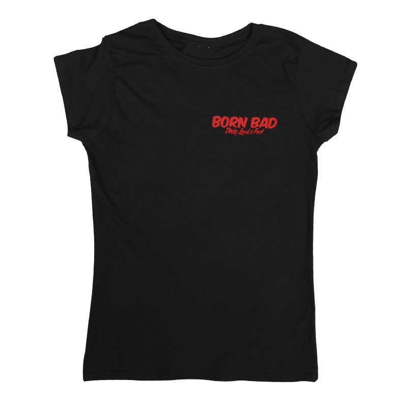 T SHIRT WOMEN LMDD Born Bad