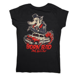 T SHIRT WOMEN Born Bad