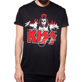 T SHIRT MEN Gene Simmons Signature