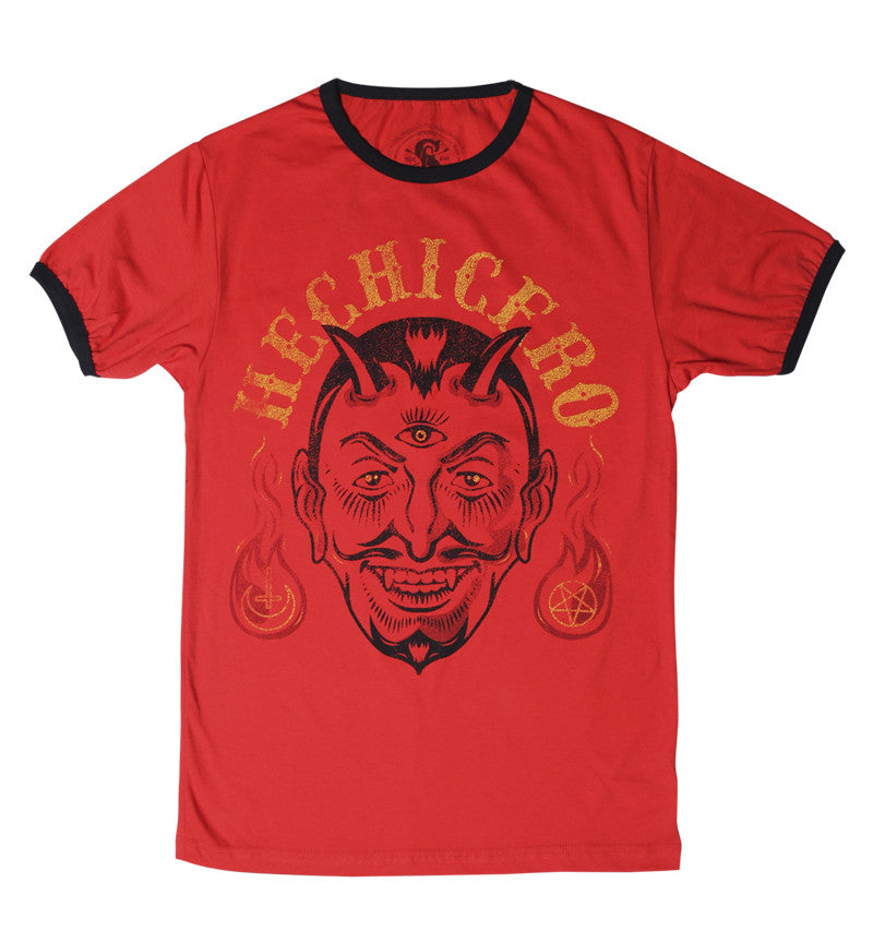 T SHIRT MEN RINGER Hechicero