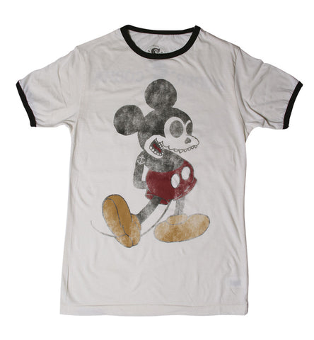 T SHIRT MEN SC Mickey Skull 2ª