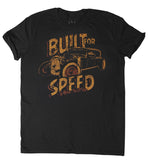 T SHIRT MEN Built For Speed - HotRod